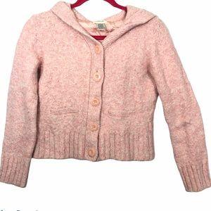 Sleeping on snow Anthropologie pink sweater